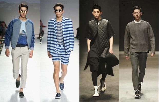 Nam Joo Hyuk trong bộ sưu tập Xuân/Hè 2014 của SONGZIO Homme.