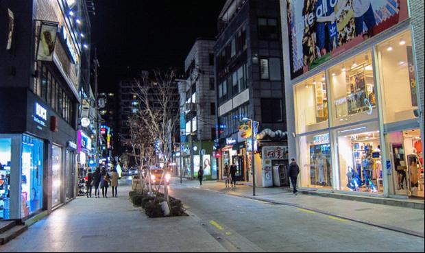 Con đường mà Nam Joo Hyuk thích đi dạo qua.