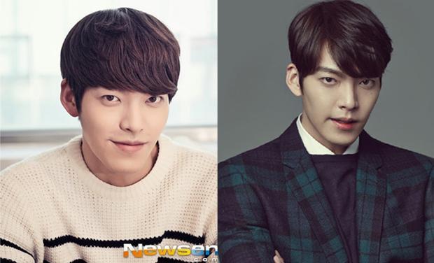 Rẽ mái giúp gương mặt của mỹ nam Woo Bin thêm cuốn hút, lịch lãm hơn