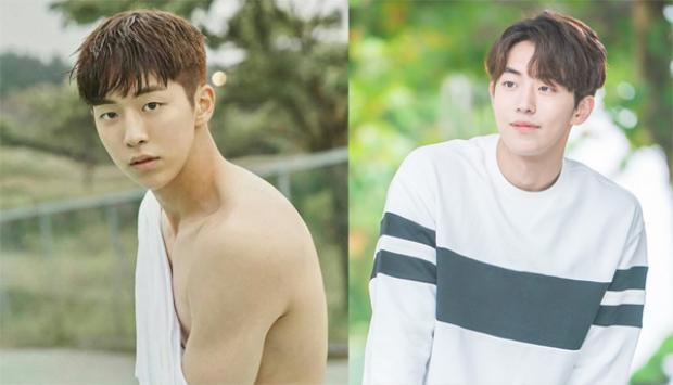 Xuất hiện với mái tóc rẽ ngôi uốn xoăn nhẹ, anh chàng Nam Joo Hyuk khiến fan ngất ngây trong bộ phim Tiên nữ cử tạ Kim Bok Joo đang sốt xình xịch gần đây