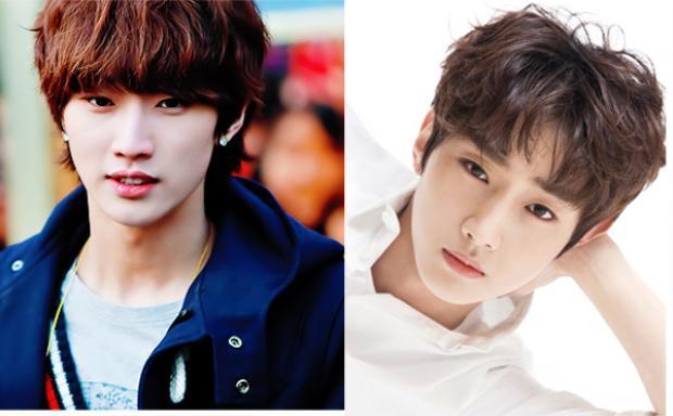 Jin Young (B1A4) khoe được trọn vẹn gương mặt mỹ nam không tì vết với kiểu mái rẽ ngôi đánh rối