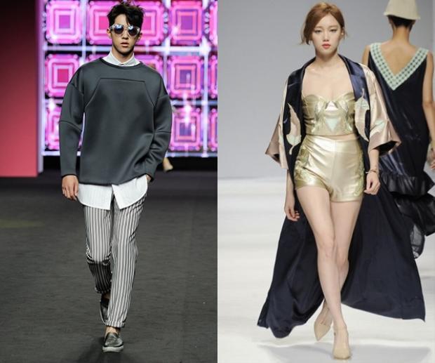 Cả hai gương mặt này đều sở hữu những bước catwalk mạnh mẽ cùng thần thái chuyên nghiệp khi sải bước trên sàn runway.