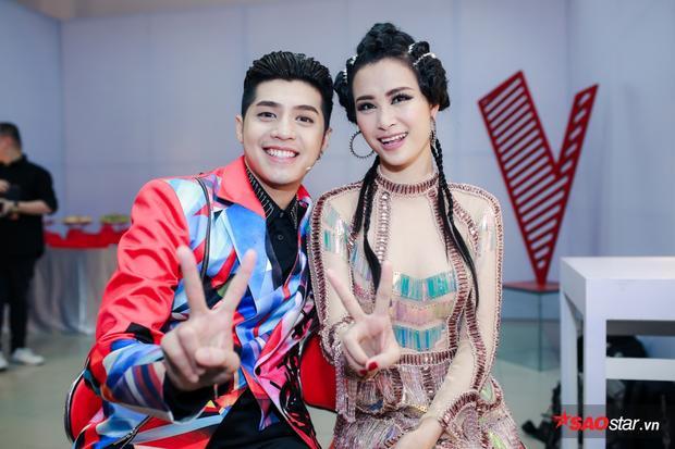 Cặp bạn thân Noo - Nu tiếp tục hội ngộ tại The Voice 2017