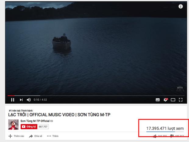 Hiện nay, con số này đã lên đến hơn 17 triệu lượt xem chỉ trong 4 ngày.