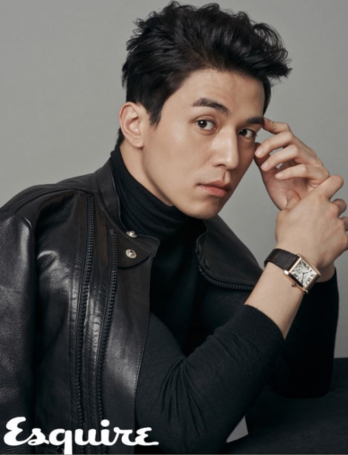 """""""Soái ca"""" Lee Dong Wook."""