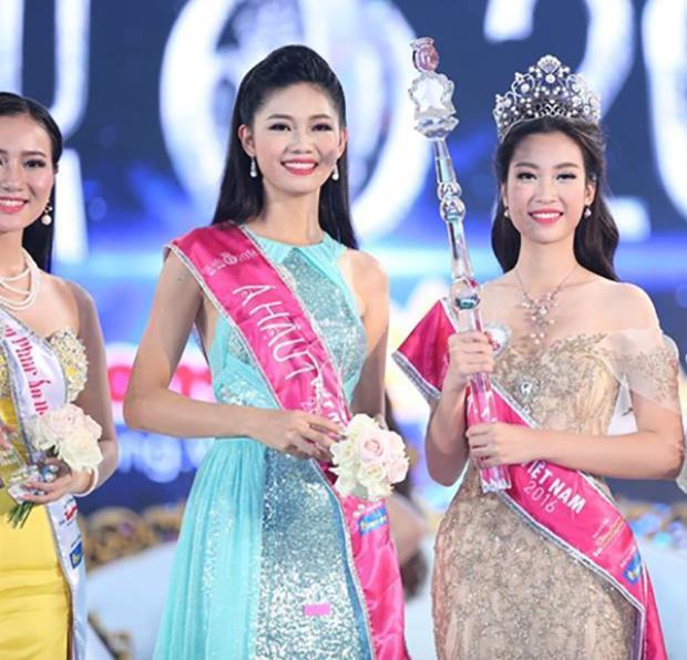Á hậu Thanh Tú và Hoa hậu Đỗ Mỹ Linh.