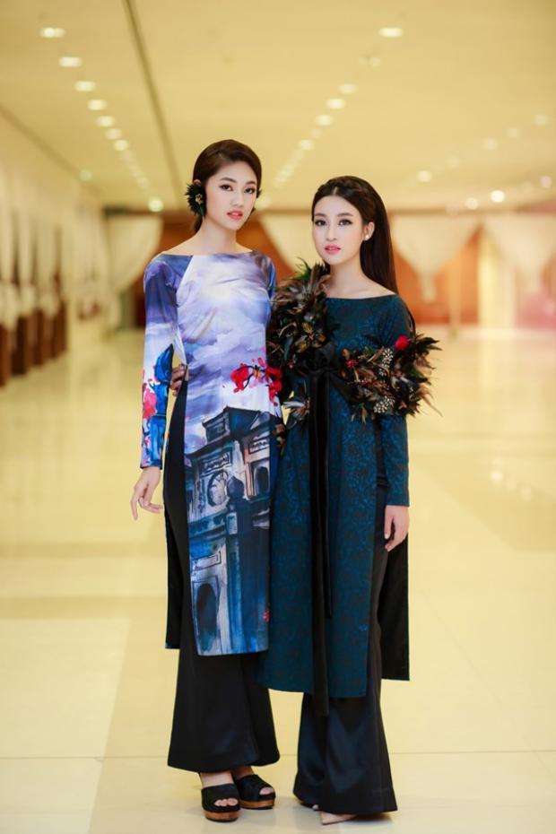 Hai người đẹp đọ sắc trong các sự kiện với phong cách thời trang biến đổi liên tục.