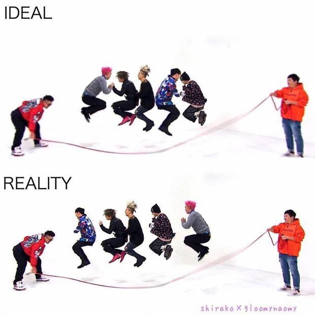 Sự khác nhau giữa ý tưởng và hiện thực