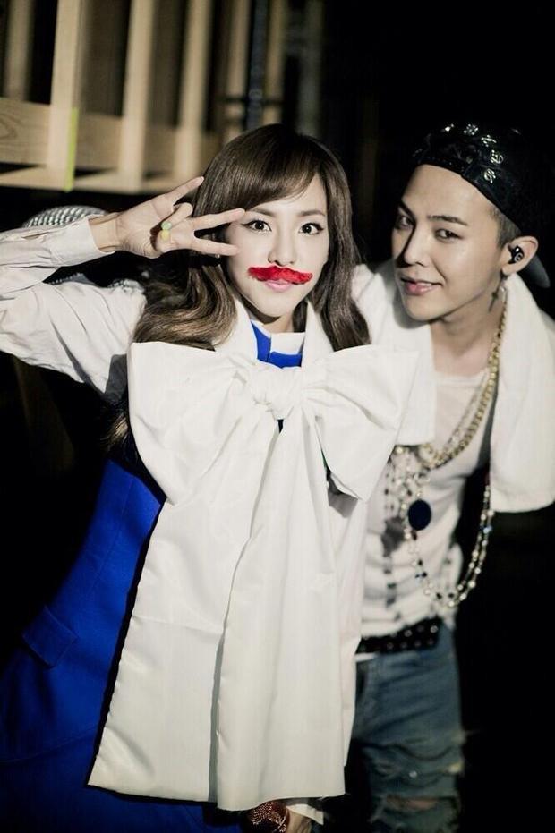 """Trên các diễn đàn và trang mạng xã hội, đông đảo người hâm mộ rất nhiệt tình """"ship"""" cặp đôi G-Dragon - Dara bằng những hình ảnh """"gán ghép"""" vô cùng khéo léo."""