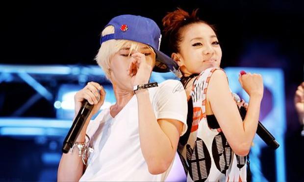 Trong một lần phỏng vấn, Dara từng thẳng thắn tiết lộ G-Dragon là mẫu bạn trai lý tưởng của mình.