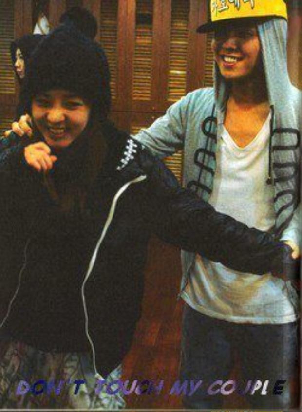 Mùi mẫn thế này, G-Dragon và Dara hẹn hò cũng phải!