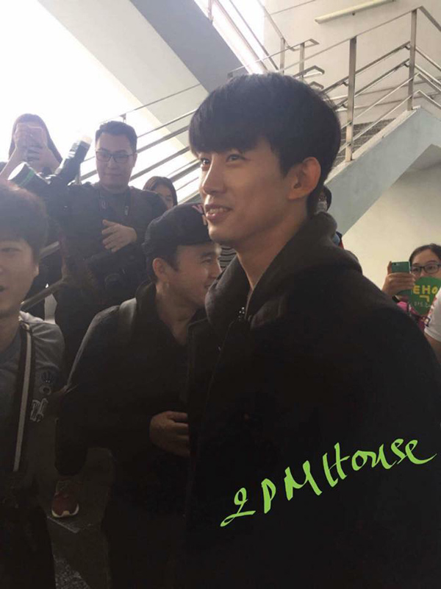 Cận cảnh nhan sắc đẹp trai của thành viên 2PM.