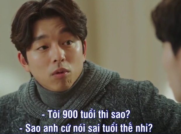 Phân đoạn hài hước nói về độ tuổi của Kim Shin