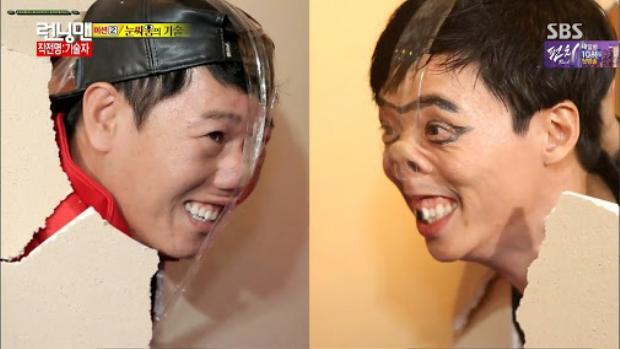 Màn đối đầu của hai ông chú trong Running man luôn là những khoảnh khắc sảng khoái nhất trong Running Man.