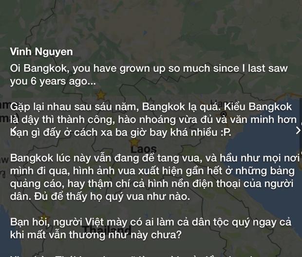 Thủ đô Băng Cốc hào nhoáng và văn minh.