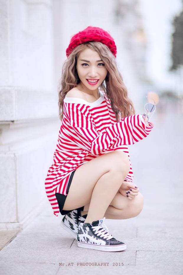 Hằng BingBoong từng gắn liền với hình ảnh tóc dài nữ tính.