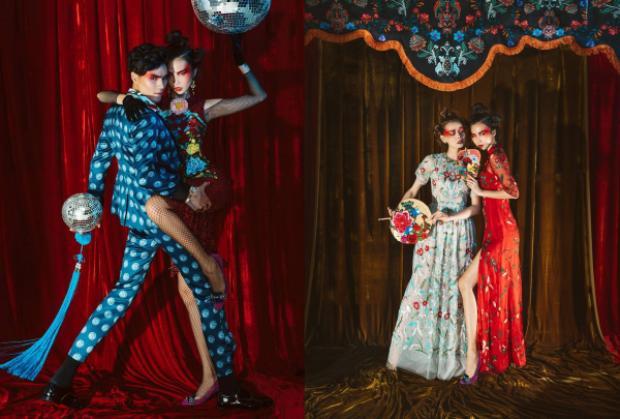 Bộ ảnh đậm văn hóa Việt Nam trong số báo năm mới của tạp chí thời trang L'Officiel.