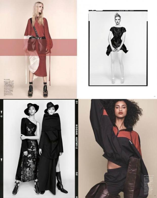 Đây mới chính là những gì nền công nghiệp thời trang Nhật muốn đem đến cho mọi người.