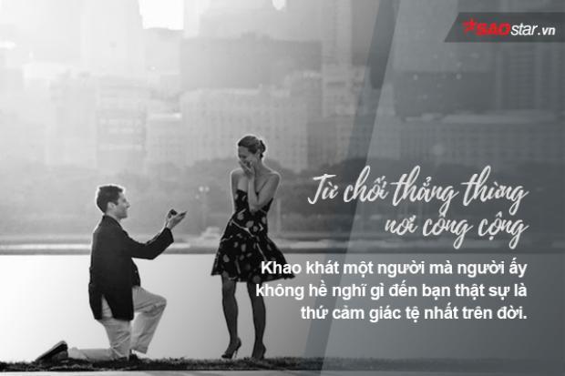 Những kiểu từ chối phổ biến bạn sẽ gặp khi yêu một người mà không được đáp lại