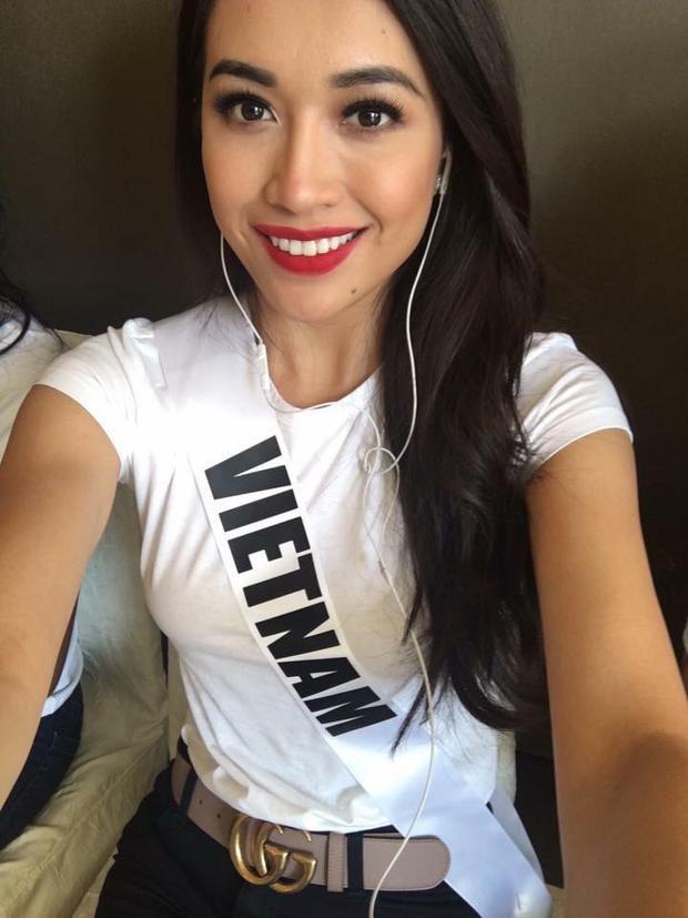 Lệ Hằng tiếp tục nhận được cơn mưa like và lời khen tại Miss Universe