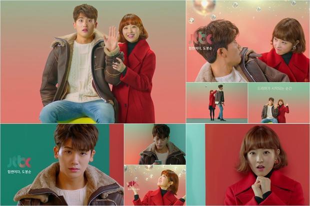 Park Bo Young và Park Hyung Sik- cặp đôi oan gia trong Cô nàng mạnh mẽ Do Bong Soo.