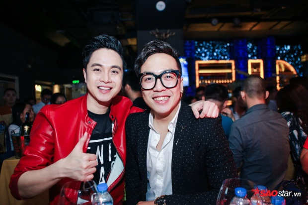 Nhạc sĩ Nguyễn Hoàng Duy và Nhật Tinh Anh.