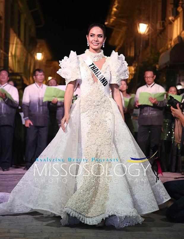 Hoa hậu Thái Lan.