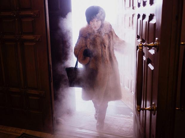 Hẳn bạn sẽ được sương giá bao phủ mỗi khi bước ra khỏi nhà.