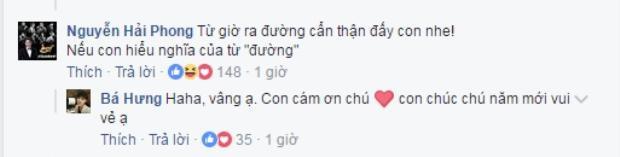 Lời nhắn đầy ẩn ý và cũng rất dí dỏm của Nguyễn Hải Phong đến học trò của Đức Trí.