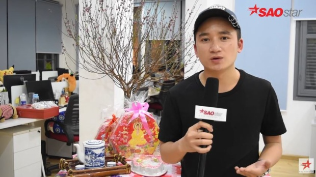 Phan Mạnh Quỳnh chúc Tết độc giả Saostar.