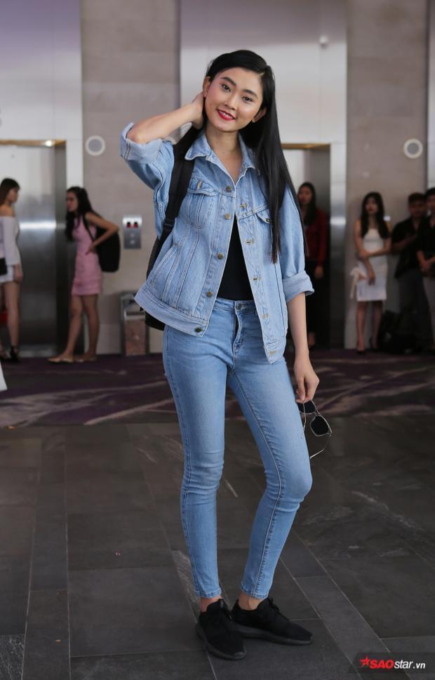 Người mẫu Kim Nhung.