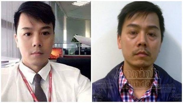 Gương mặt thất thần thảm hại của nghi phạm ấu dâm Cao Mạnh Hùng khi bị bắt