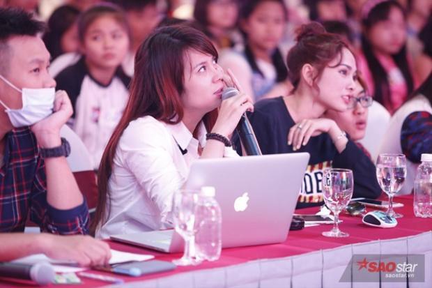 Lưu Thiên Hương làm giám khảo tuyển sinh Giọng hát Việt Nhí 2017
