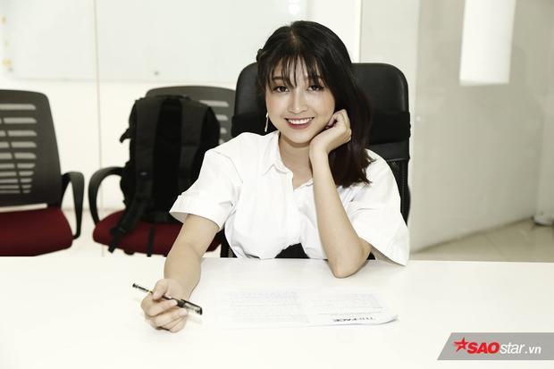 Cô diễn viên trẻ tài năng của bộ phim dành cho tuổi học trò Cấp 3 - Kim Chi.