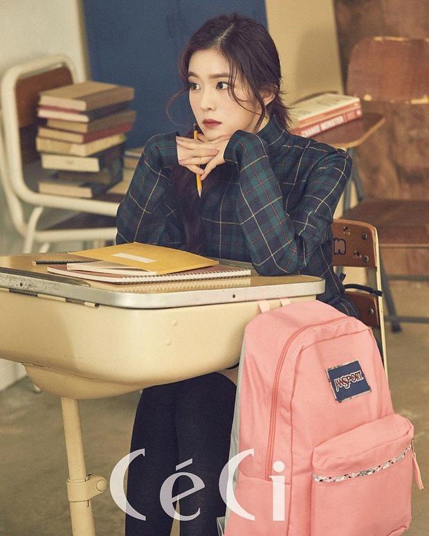 Irene hóa thân thành cô học trò dịu dàng trong quảng cáo của CéCi.