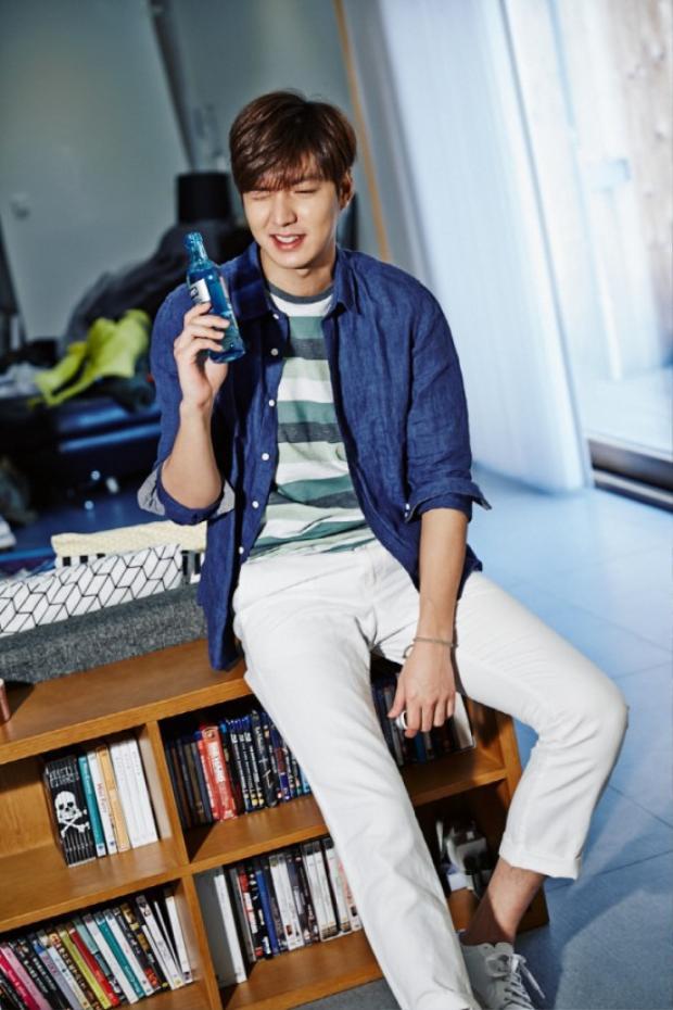Lee Min Ho vẫn luôn khẳng định mình là một người mẫu ảnh chuyên nghiệp.