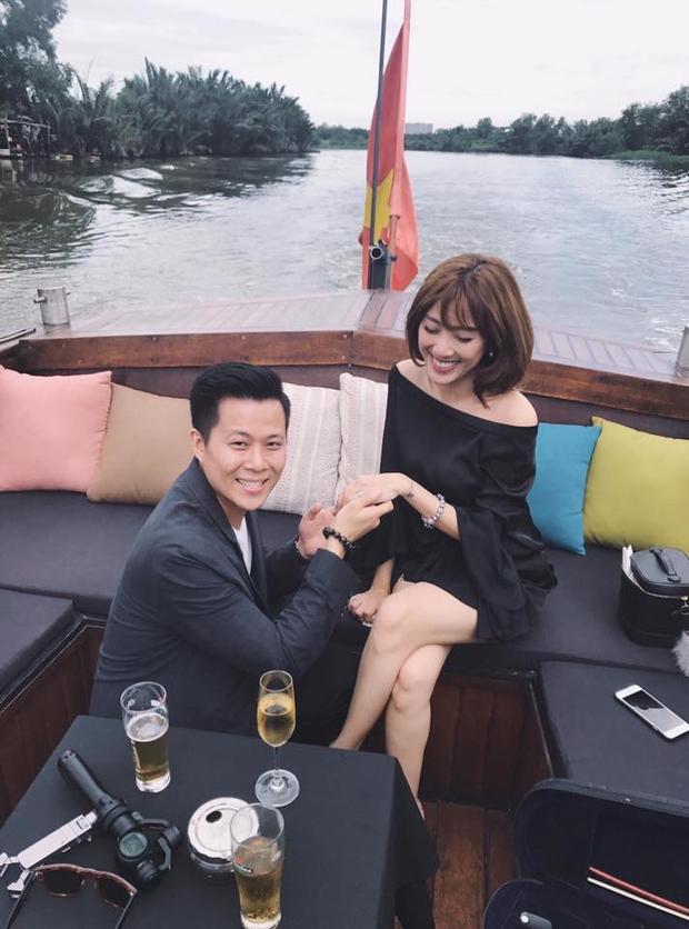 Lần đầu tiên lộ mặt người yêu của Yumi Dương.