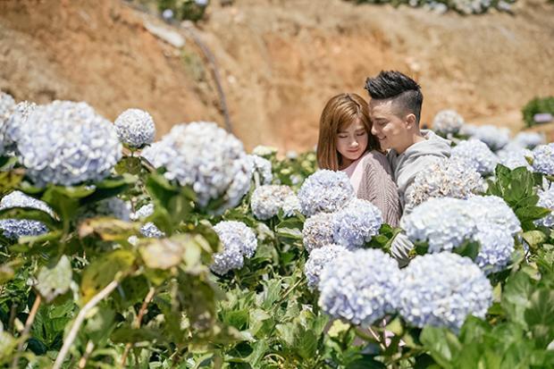 Những cảnh quay siêu lãng mạn được Cao Thái Sơn thực hiện tại Đà Lạt.