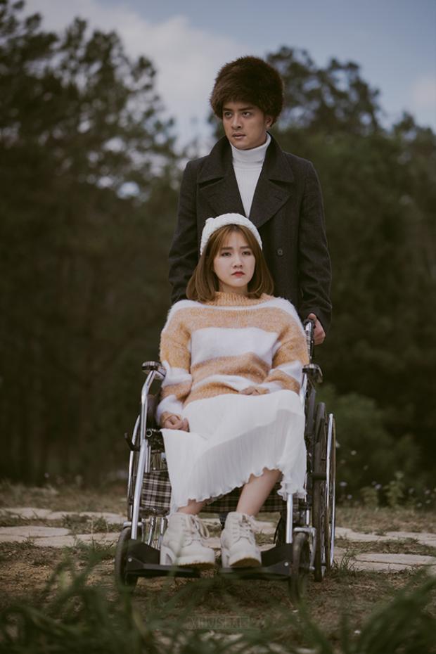 Cao Thái Sơn đau khổ khi để người yêu gặp tai nạn.