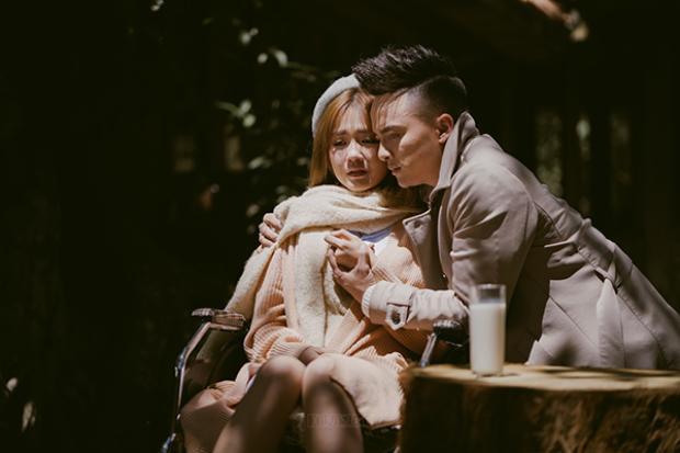 Cao Thái Sơn khóc hết nước mắt vì khiến người yêu bị thương trong MV mới