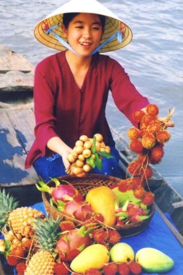 10 cô gái phải thể hiện được tinh thần của bộ ảnh quảng bá đặc sản trái cây Việt để chinh phục BGK chương trình. (Nguồn: Pinterest)