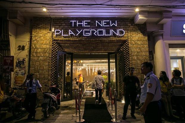 """Nơi """"chào sân"""" của The New Playground. Thoáng nhìn qua thì đoán chắc nơi đây là địa điểm """"sống ảo"""" lý tưởng của các bạn trẻ rồi !"""