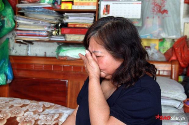 Cô Hải xúc động khi chia sẻ về hoàn cảnh của mình.