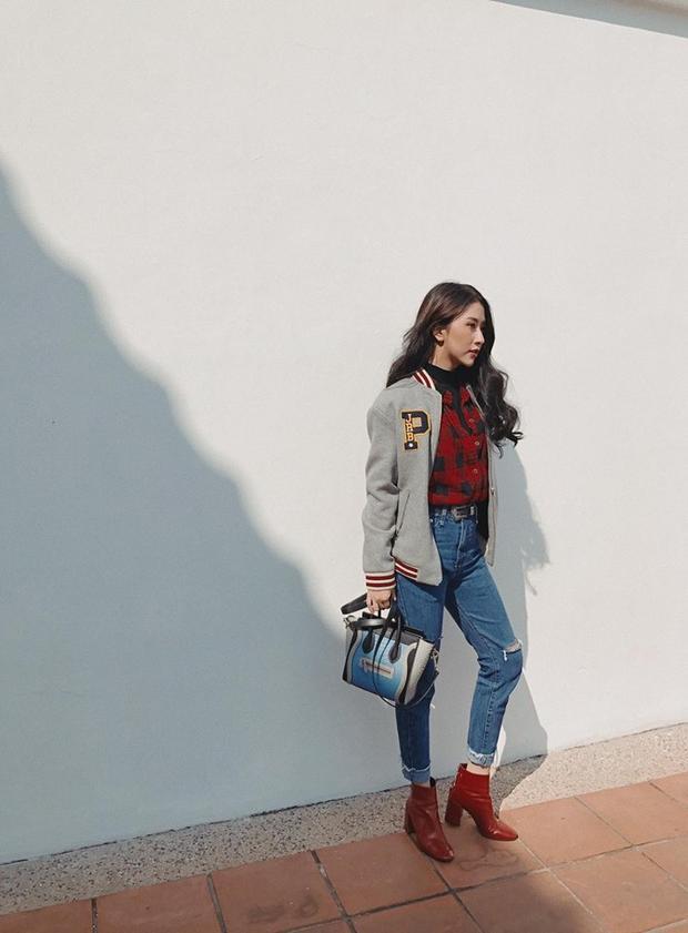 Túi Céline cũng là một trong những chiếc túi yêu thích của Quỳnh Anh và có giá khoảng 54 triệu đồng.