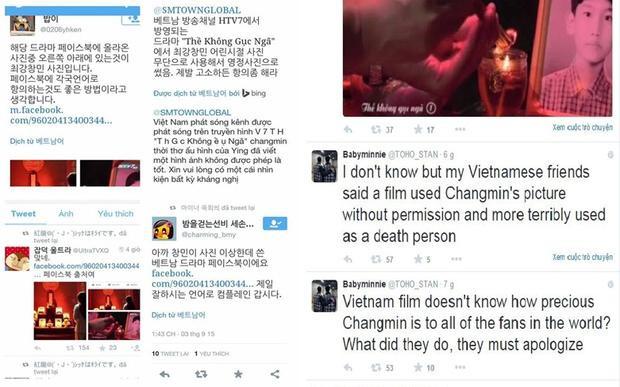 Sự việc ồn ào đến mức fan quốc tế cũng vào cuộc và đạo diễn Cao Minh sau đó phải gửi lời xin lỗi chân thành đến cộng đồng fan Chang Min nói riêng và Kpop nói chung.