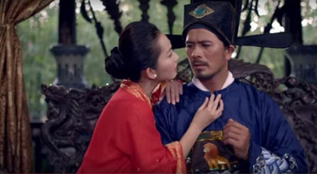 Hình ảnh Lion Kinh xuất hiện trên áo vị quan nhà Nguyễn.