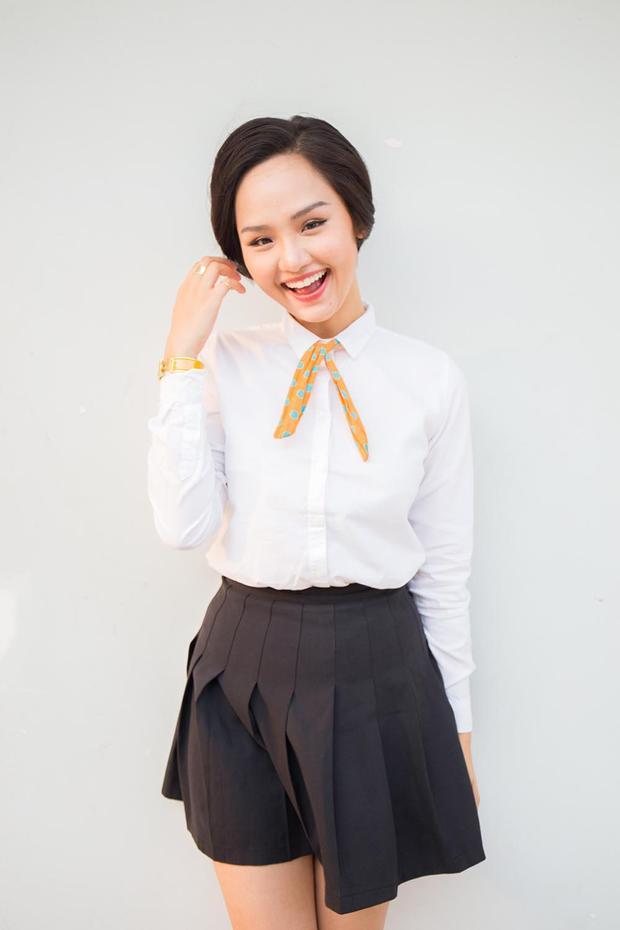 Với cặp đôi đình đám trong Bạn gái tôi là sếp, Miu Lê sẽ đảm nhận nhân vật cô gái lần đầu ngại ngùng tỏ tình với chàng trai mà mình thích (Đỗ An).