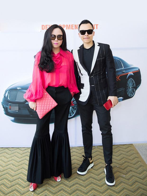 """Nữ doanh nhân Phượng Chanel và """"ông trùm chân dài"""" Vũ Khắc Tiệp."""