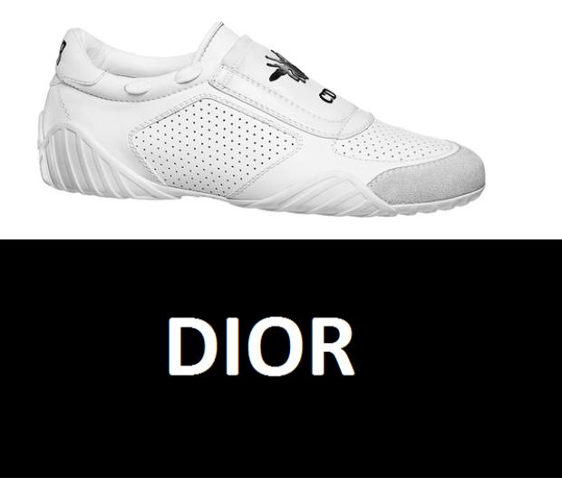 Sneaker trắng của Dior mới ra đời vào cuối tháng 1/2017, có giá trị mua bán là 750 euro ~ trên 18 triệu đồng.