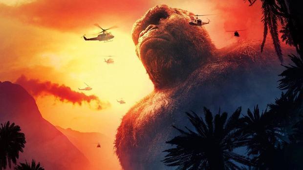 """Kong: Skull Island trở thành từ khóa """"hot"""" nhất các rạp chiếu Việt những ngày qua."""